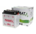 Akkumulátor YB9-B (12V9AH 137X76X140) - FULBAT savas