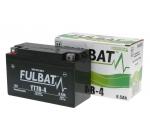 Akkumulátor YT7B-4 (12V6.5AH 150X65X93) -  FULBAT zselés